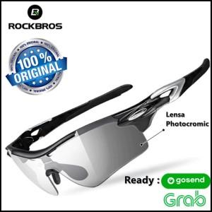 Kacamata Sepeda Gowes Roadbike MTB Rockbros Radar Lensa Photocromic