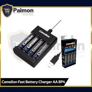 Camelion Charger Pro + Baterai Rechargeable 2500mAh Bp4