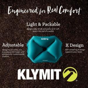 KLYMIT PILLOW X LARGE LIFETIME WARRANTY!