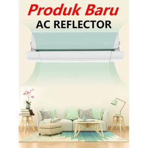 AC Air Screen Cover /Talang Angin AC/ Semua Ukuran AC 1-2PK-3PK