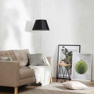 Lampu Gantung Pendant Lamp Black T/C Acrylic 3+DL-SD7027-1-460-BL-VG