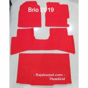 Terbaru Karpet Mobil Mie/Bihun Sirion 2012,Ayla 2016 & 2019,Brio 2019