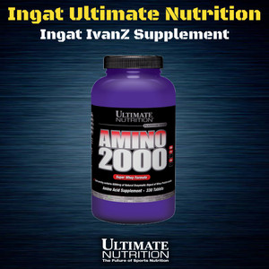 [PROMO] AMINO 2000 330 TABS ULTIMATE NUTRITION