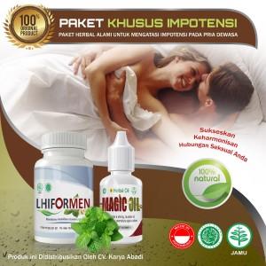 Paket Herbal Impo Tensi - Lhiformen Magic Oil Original BPOM