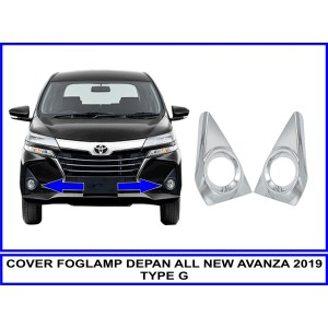 COVER FOGLAMP DEPAN ALL NEW AVANZA 2019 TYPE G