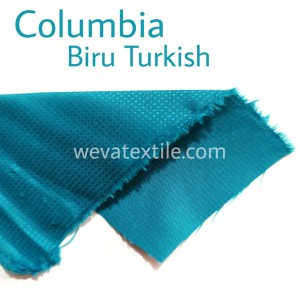 Bahan Kain Parasut Columbiaa Kain Jaket Waterproof Biru Turkish