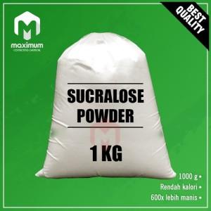Sucralose Powder / Sukrosa Bubuk / Sweetener / Pemanis 1Kg