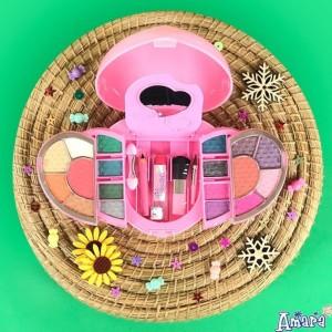 AMARA Magical Heart Make Up Anak Beauty Kit Kosmetik Aman Anak BPOM