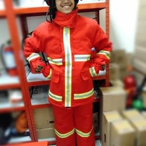Baju Pemadam Api / Baju Damkar / OMEGA ORANGE/RED