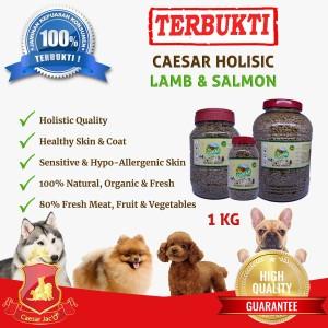 Dogfood Caesar Natural Holistic Lamb & Salmon 1kg