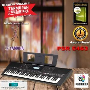 PSR E463 - X Stand Double / PSRE463 / PSR E 463 Keyboard Garansi