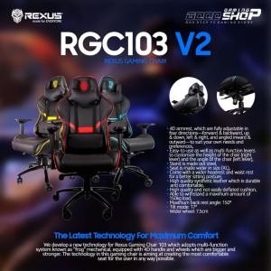 Rexus RGC 103 Red Gaming Chair