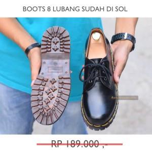 Sepatu Boots Pria Classic Murah Nyaman Bahan KULIT Branded Anti Slip