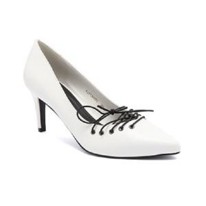 Vicari Joice Heels Wanita White V1FC9001