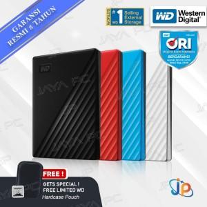 "WD My Passport 2TB - HDD / HD / Hardisk / Harddisk External 2.5"""