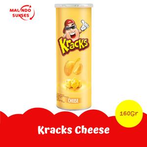 Kracks Potato Chips Cheese 160gr