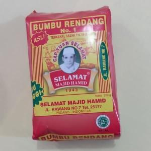 Bumbu Rendang No.1 cap Tuan Selamat Majid Hamid 250 Gram Asli Mutu