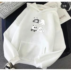 Jaket Hoodie Panda Pesanan