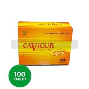Erela Cavicur Tablet Antivirus Suplemen Kesehatan Hati Nafsu Makan