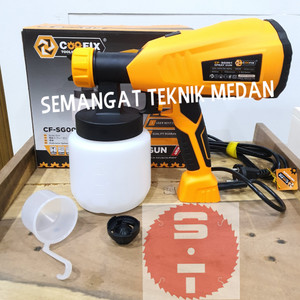 CF-SG001 SPRAY GUN LISTRIK SEMPROTAN ANGIN CAT HEAVY DUTY COOFIX SG001