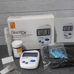 alat cek gula darah gluco dr bio sensor + strip isi 25