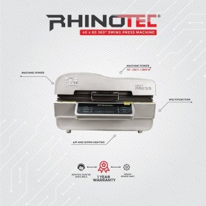 HEAT PRESS 3D SUBLIM RHINOTEC