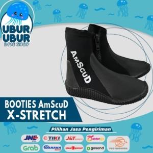 Booties AmScud X-STRETCH 3.5mm - Sepatu Renang - Sepatu diving