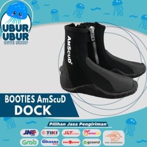 Sepatu Selam/Sepatu Karang/ Booties AmScuD DOCK High 3.5mm