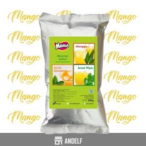 Bubuk Minuman Mango / Mangga Kemasan 500 Gram