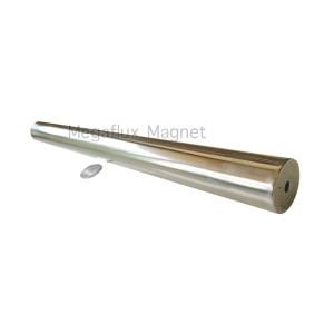 Silinder 25 mm x 300 mm. Rod Magnet Neodymium 10.000 Gauss.