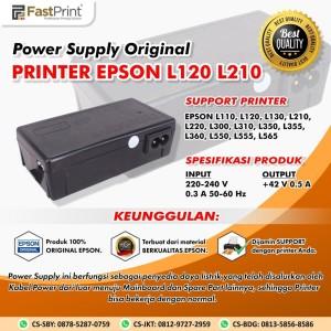 Fast Print Power Supply Original Epson L110, L120, L210, L300, L350