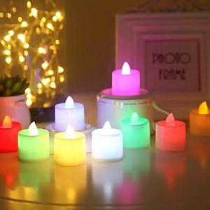 Lampu Lilin LED untuk Dekorasi Pesta Ulang Tahun Candle Light Dinner