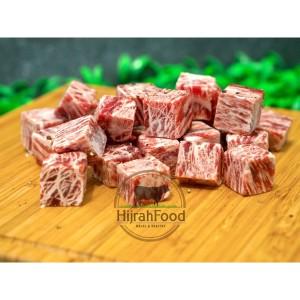 Beef Saikoro Wagyu Meltique / Beef Cubes Premium (Qty. 1 kg)