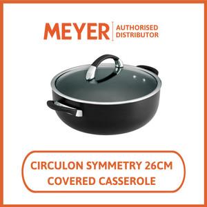 Meyer Circulon Symmetry Covered Casserole 26 cm - Panci