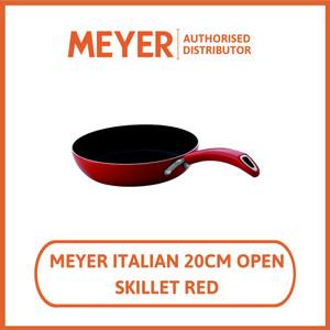 Meyer Wajan Penggorengan Italian Red II 20cm Skillet - Wajan