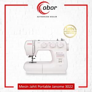 Mesin Jahit JANOME 3022 Portable