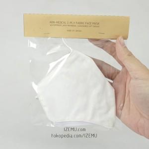 MASKER SRITEX Non-Medis Kain 2 Lapis Nyaman Anti Microbial & Anti Air