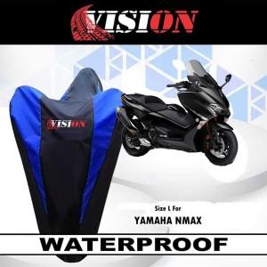 Sarung Motor NMAX / Cover Penutup Motor Warna waterproof Merk VISION