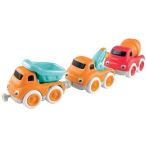 ELC Whizz World construction vehicle magnetic trio set