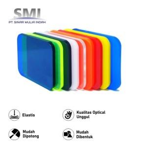 Akrilik Lembaran Warna Tembus / Ryban 5 MM x 1.22M x 2.44M - SMI store
