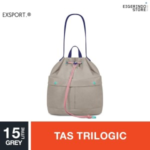 Exsport Jovanka Sight Drawstring Bag - Grey 15L
