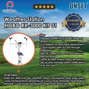 Alat Pemantau Cuaca Untuk Klimatologi HOBO RX-3000 (Weather Station)