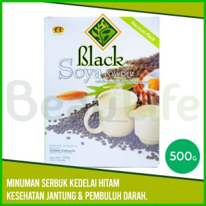 ✅HEI HWANG Black Soya Powder - Serbuk Kedelai Hitam Bubuk 500gr