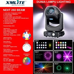 Moving head beam 260 lampu sorot panggung studio lighting MURAH