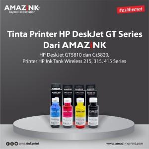 1 Set Tinta Printer HP DeskJet GT Series dari AMAZINK.