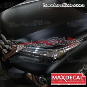 MAX DECAL HITAM DOFF 152 CM STIKER VINYL WRAP MOBIL SETARA ORACAL