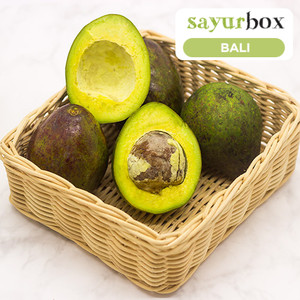 Alpukat Mentega Conventional 1 kg (Sayurbox) - BALI