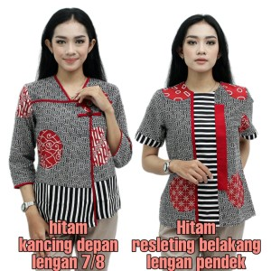 Batik Wanita Modern / Blouse Batik wanita / Atasan Batik / Batik Jumbo