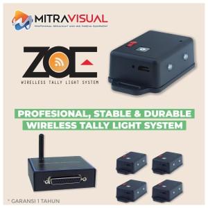 ZOE Wireless Tally Light System