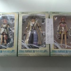 Final Fantasy XIII Play Arts Kai Complete Set